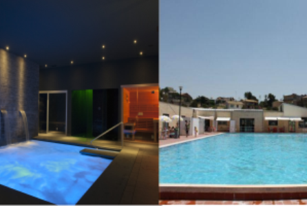Centro benessere + piscina (Benefit day)