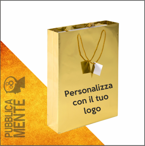 Shopper Oro Lucido Luxury