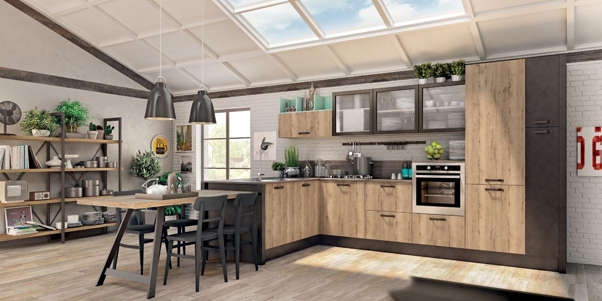 Cucine componibili creo kitchens a catania cucine creo for Arredo shop on line