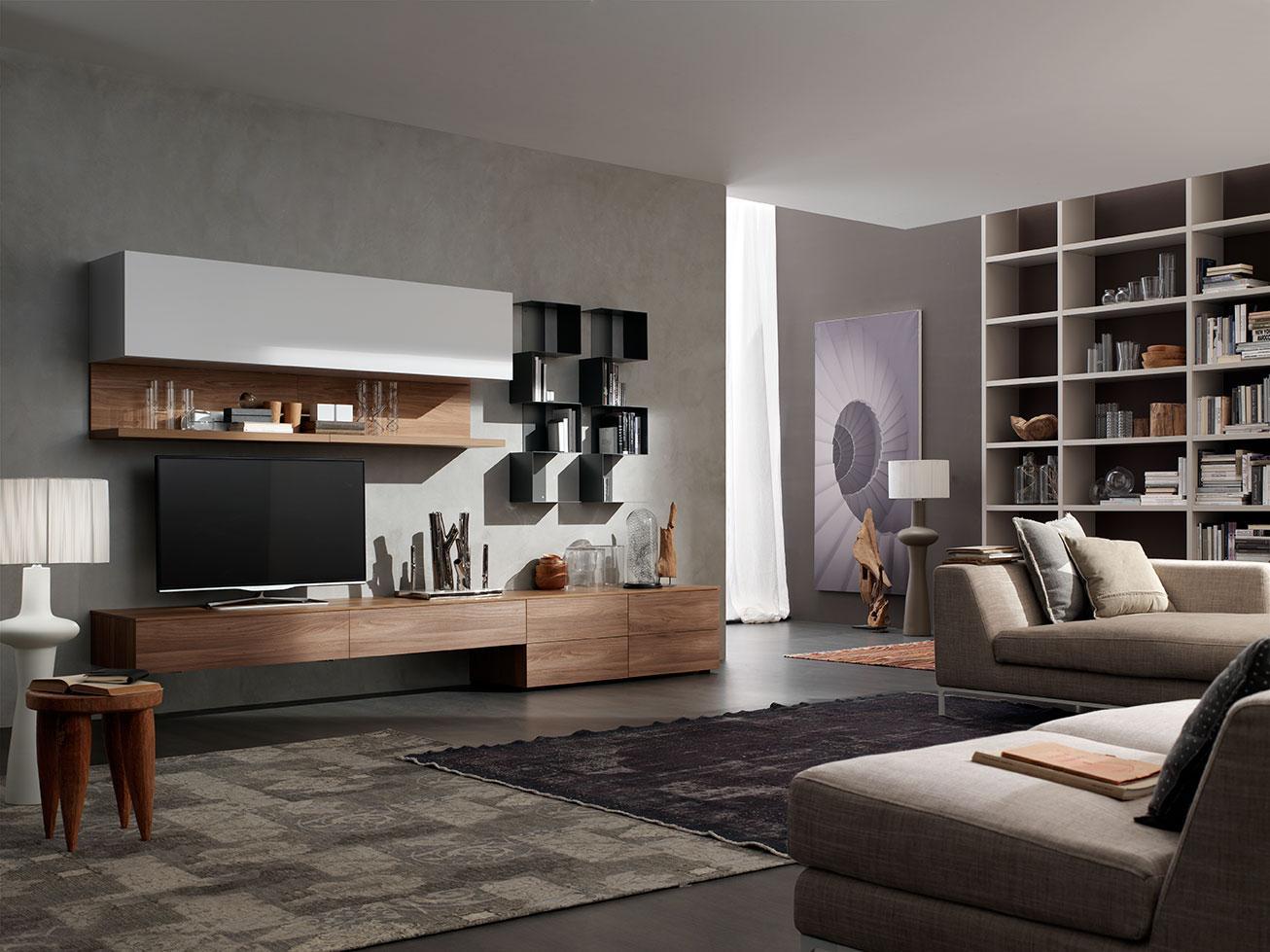 Zona living moderna s l integra catania for Zona living moderna