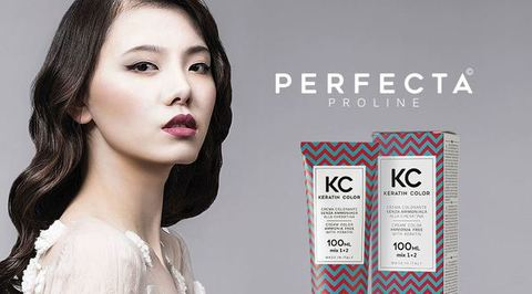 LINEA  PERFECTA KERATIN COLOR