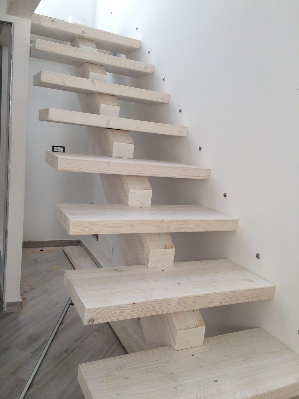 Scale in legno per solai corso legnami srl segesta for Coprigradini per scale in legno