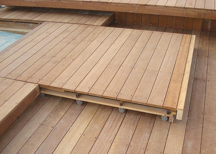 Pavimenti per esterni in iroko bagheria palermo for Costo ascensore esterno 4 piani