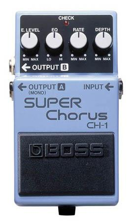 BOSS CH1 SUPER CHORUS BOSS