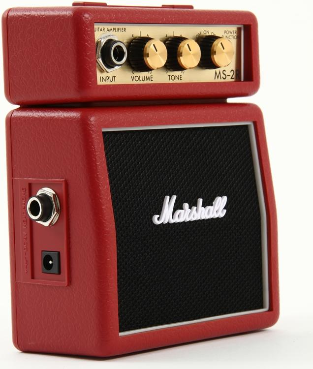MARSHALL MS-2R MICRO AMP RED MARSHALL