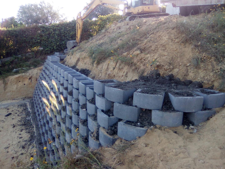 Quanto possono costare al pezzo i blocchi in cemento for Terra per giardino