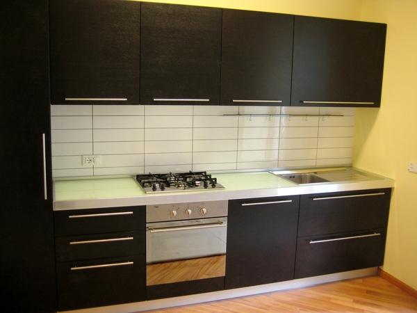 Cucina rovere moro chiaramonte ragusa sicilia mobilificio - Top cucina in vetro ...