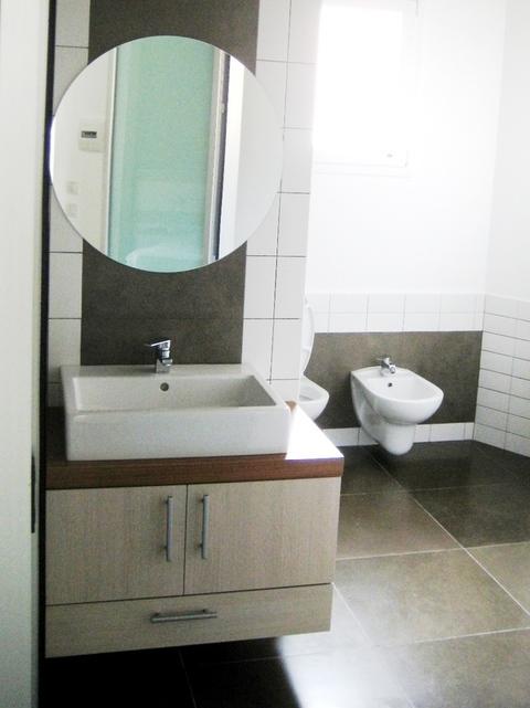 Mobile bagno rovere sbiancato bagno rovere chiaro mobile - Mobili rovere sbiancato ...