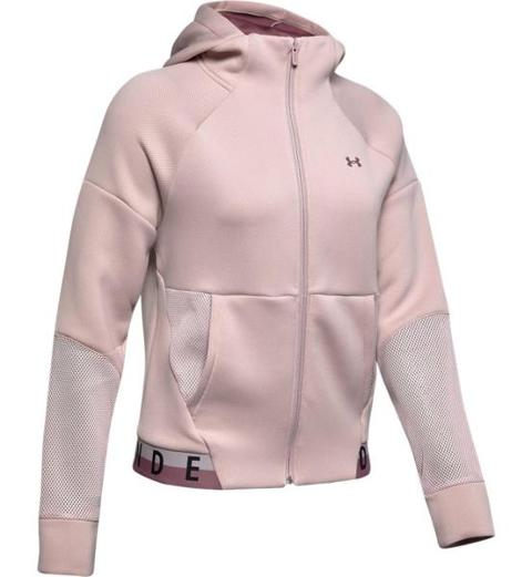 Felpa full zip mesh UNDER ARMOUR