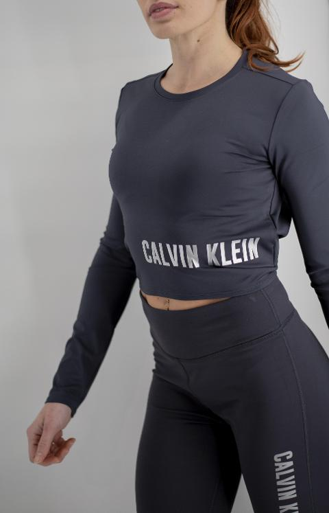 Crop con logo Calvin Klein Performance