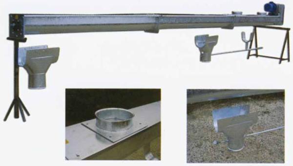 Coclea a canala in elementi modulari con supporti for Vetroresina ondulata prezzo