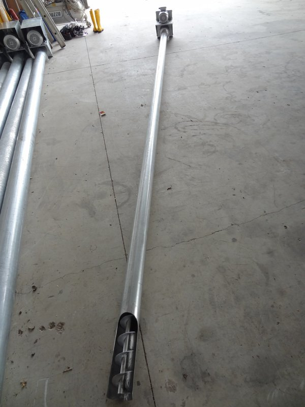 Coclea di scarico rigida in ferro zincato di vari diametri for Vetroresina ondulata prezzo