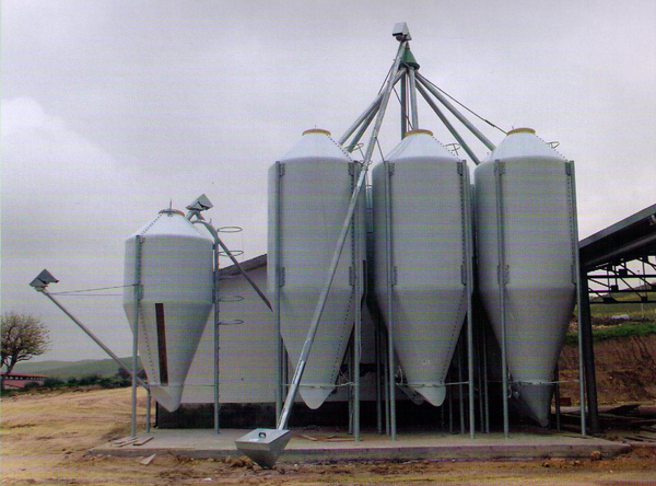 Impianti silos alcamo trapani for Vetroresina ondulata prezzo