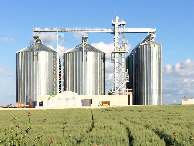 Impianto silos in lamiera alcamo trapani for Vetroresina ondulata prezzo
