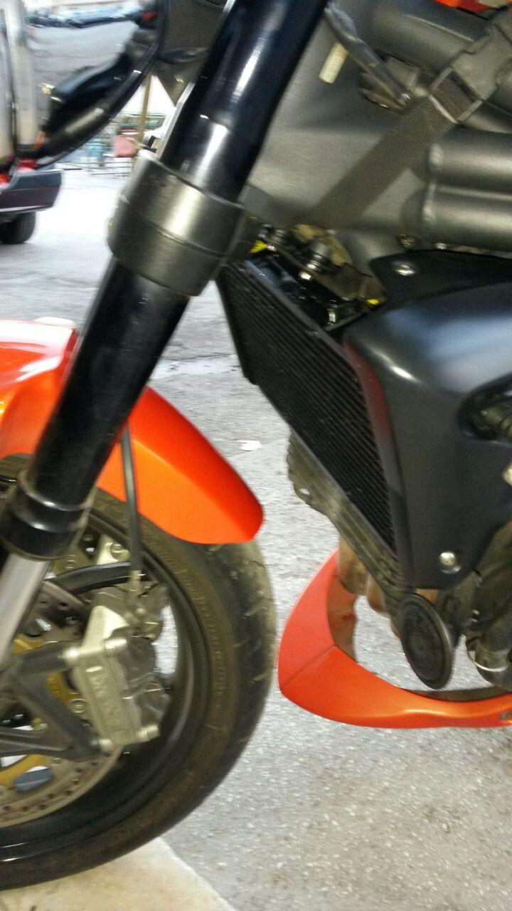 RADIATORE MOTO TRIUMPH SPEED TRIPLE
