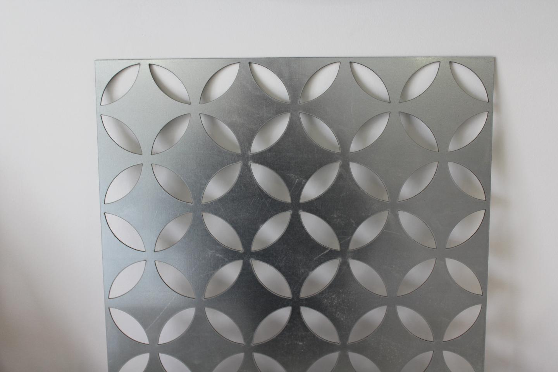 Divisori/Pannelli decorati in lamiera alluminio, corten e acciaio ...