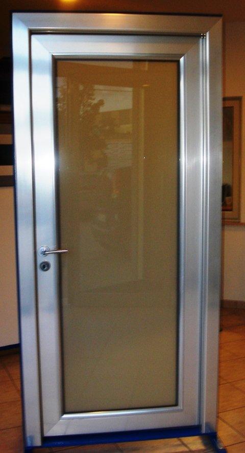 Porte d 39 ingresso in alluminio alcamo trapani for Porte d ingresso