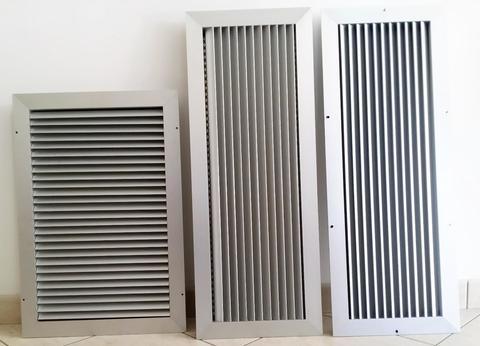 Griglie d'aerazione/ventilazione in rame,acciaio inox e alluminio - Alcamo (Trapani)