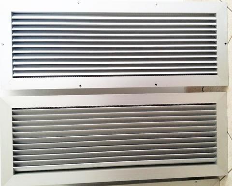 Griglie d 39 aerazione ventilazione in rame acciaio inox e alluminio alcamo trapani - Griglie di aerazione design ...