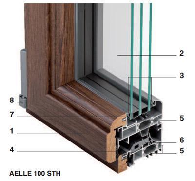 Serramenti in alluminio legno calatafimi trapani - Guarnizioni finestre alluminio ...