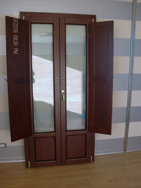 Produzione finestre alluminio legno con scuretti - Finestre scorrevoli elettriche ...