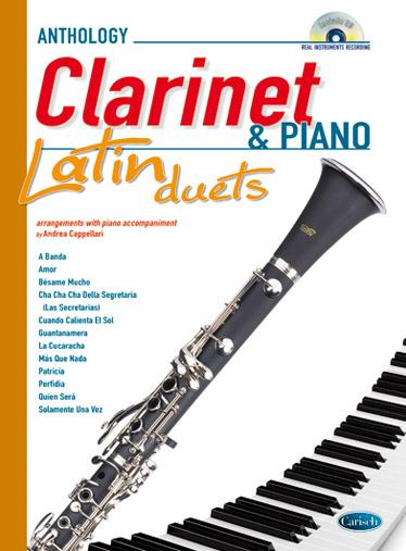 Andrea Cappellari LATIN DUETS FOR CLARINET & PIANO