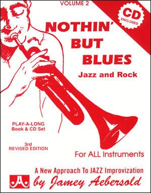 VOL. 2 - NOTHIN BUT BLUES AEBERSOLD Libro +  2 CD