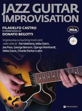Castro/Begotti JAZZ GUITAR IMPROVISATION CON CD