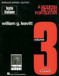 William Leavitt A MODERN METHOD FOR GUITAR Vol. 3
