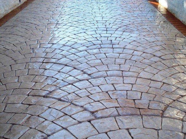 Pavimento Calcestruzzo Stampato : Pavimento stampato sicilia sira pavimenti nicosia enna
