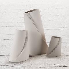 Vaso in gres porcellanato  Lineasette  Escher