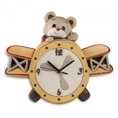 Orologio in ceramica decorata  Egan IL MONDO DI OLIVER