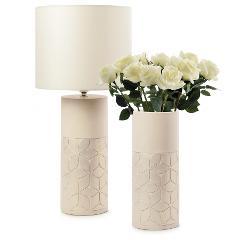 Vaso in ceramica decorata  Egan CAPITONNE'