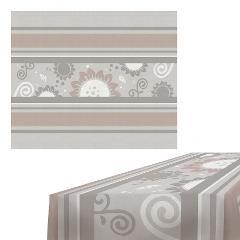 Tovaglia rettangolare in cotone stampato Egan HELIOS