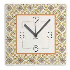 Orologio in ceramica decorata  Egan MAJORICA