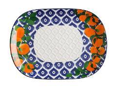 Piatto ovale in ceramica decorata Maxwell&Williams POSITANO