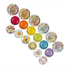 Servizio 18pz piatti in porcellana decorata  Excelsa LISBONA