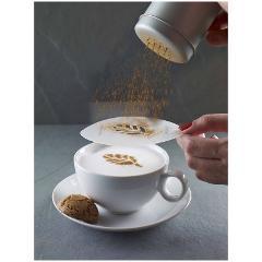 Set di 6 stencil in plastica decora cappuccino Aerolatte  ART