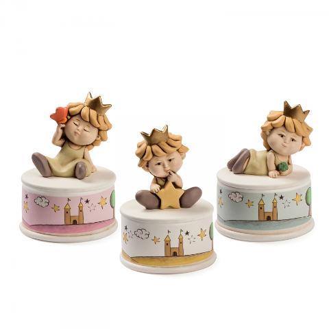 Carillon in ceramica dcorata  Egan I PICCOLI PRINCIPI