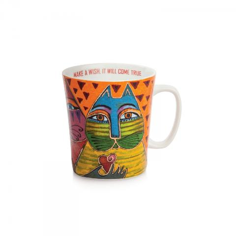 Tazza mug in porcellana decorata  ml 430 Egan LAUREL BURCH