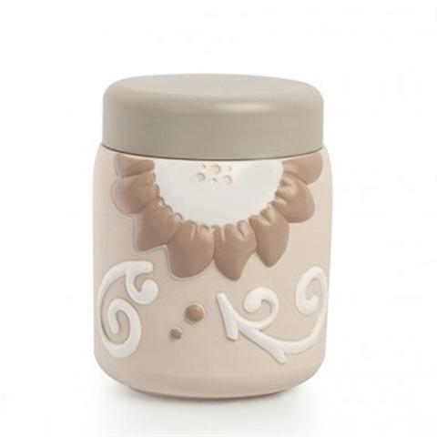 Barattolo con coperchio in ceramica decorata  Egan HELIOS