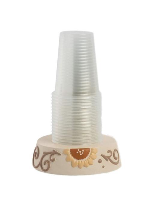 Portabicchieri in ceramica decorata Egan HELIOS