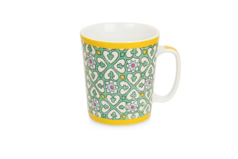 Tazza mug in porcellana decorata  Egan MAJORICA