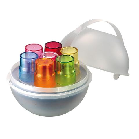 Set pic nic 28pz in materiale plastico  Guzzini PIC BOWL