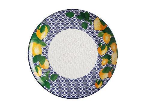 Piatto portata rotondo in ceramica decorata  Maxwell&Williams POSITANO