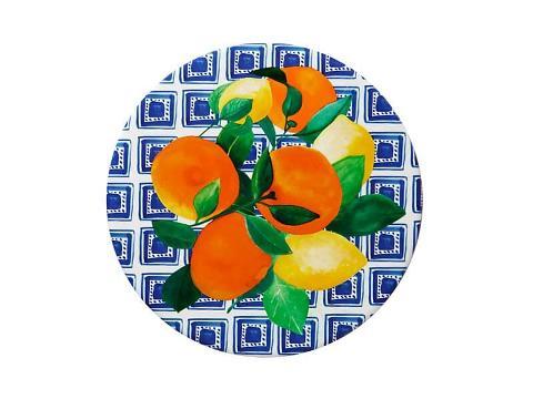 Sottopentola rotondo in ceramica decorata Maxwell&Williams POSITANO