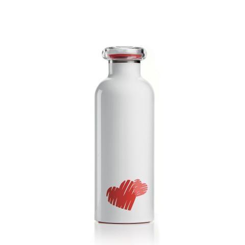 Bottiglia termica da viaggio in acciaio inox  Guzzini LOVE