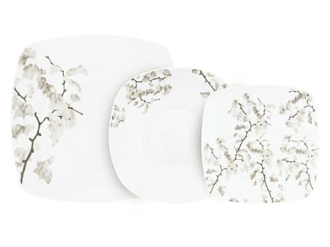 Servizio 18pz piatti in porcellana decorata  Villa Altachiara CANFORA