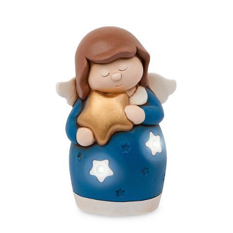 Lampada led angelo ceramica decorata Egan ANGELS I LOVE