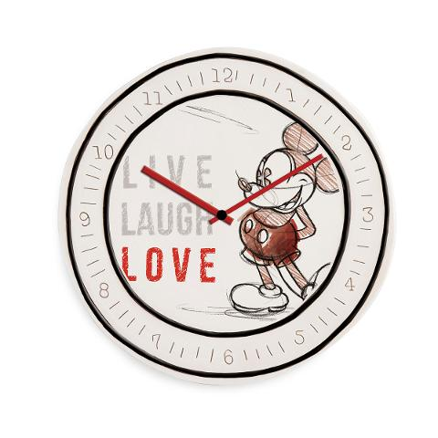 Orologio in ceramica decorata  Egan LIVE LAUGH LOVE